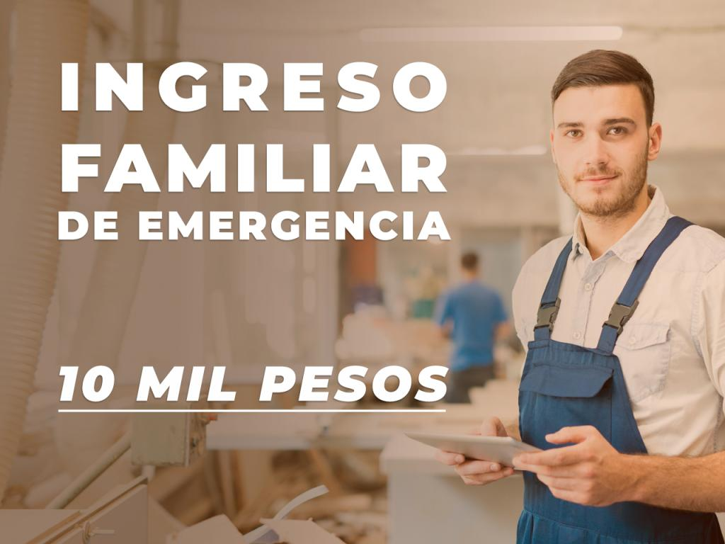 Ingreso familiar de emergencia !