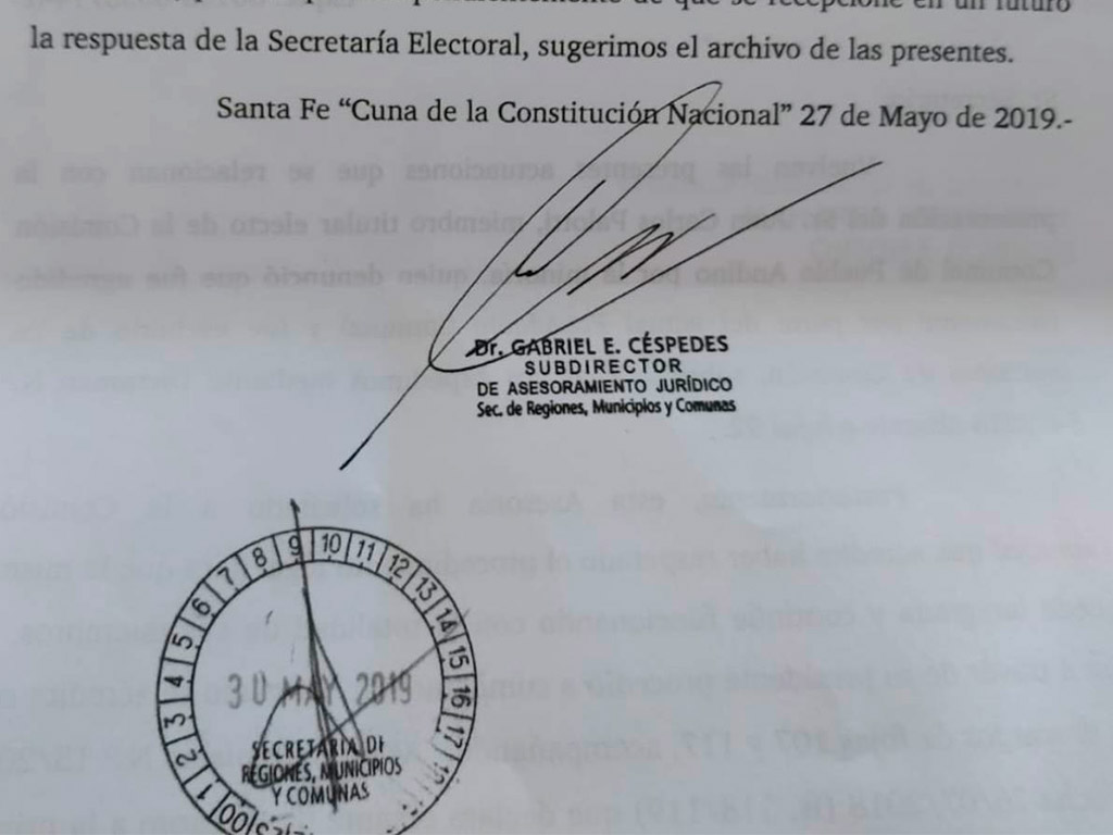 Carta Municipios